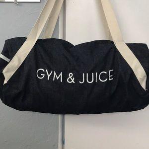 Denim Gym Bag / Duffle Bag